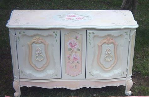 paint furniture shabby chic collage sheet girl how to paint a shabby chic rose video lesson