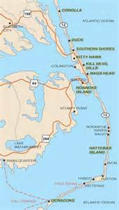 Outer Banks Towns Map