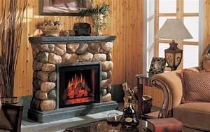 Fireplace mantels on Custom-Fireplace Quality electric