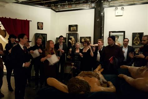 House Of Wax Exhibition Opening @ Morbid Anatomy Museum