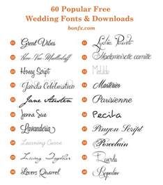 wedding font 60 popular free wedding fonts bonfx