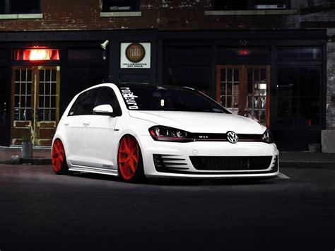 car, Night, Golf GTI, GTI, Volkswagen Golf Wallpapers HD ...