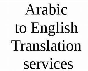 arabic to english translation arabic to english With document translation services arabic to english