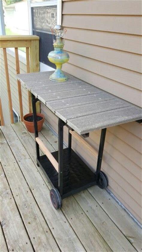 stuff  madean  gas grill repurposed   deck