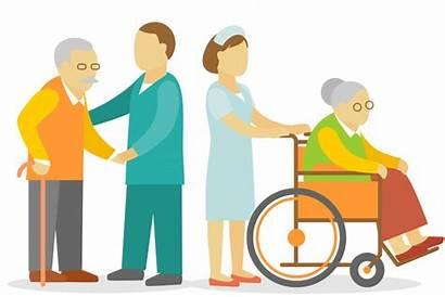 Nursing Clipart Caring Facility Skilled Homes Care