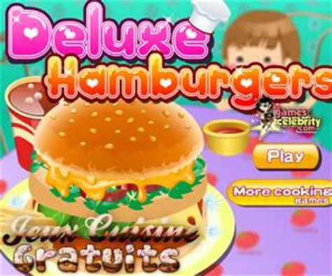 jeu de cuisine hamburger la pizza de sur jeux cuisine gratuits