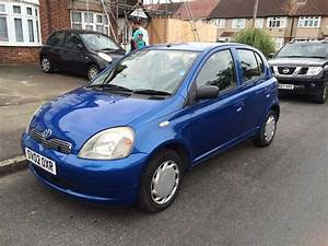 Toyota Yaris  2002  1 2cc  Manual  Petrol  5 Doors  Long Mot  Service History  2 Keys