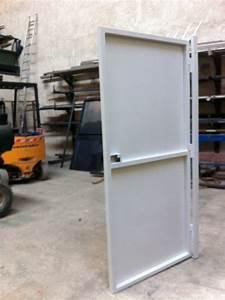 porte de service metallique veglixcom les dernieres With cadre de porte metallique