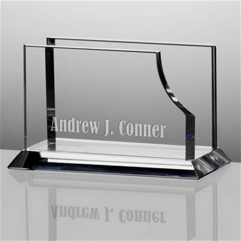 personalized business card holder for desk personalized desk accessories