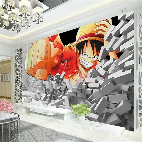 Anime Mural Wallpaper - japanese anime wallpaper king of luffy wall mural