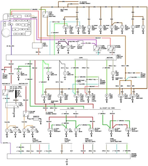 87 Mustang Power Window Wiring Diagram by Aero To Four Eye Conversion Wiring Up Headlights