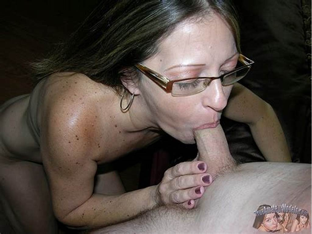 #Milf #Blowjob #With #Glasses