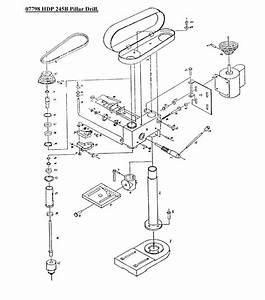 Pillar Drill Drawing