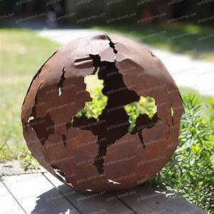 Decoration Jardin Metal : boule en m tal d coupe laser objets d co de jardin en m tal ~ Teatrodelosmanantiales.com Idées de Décoration