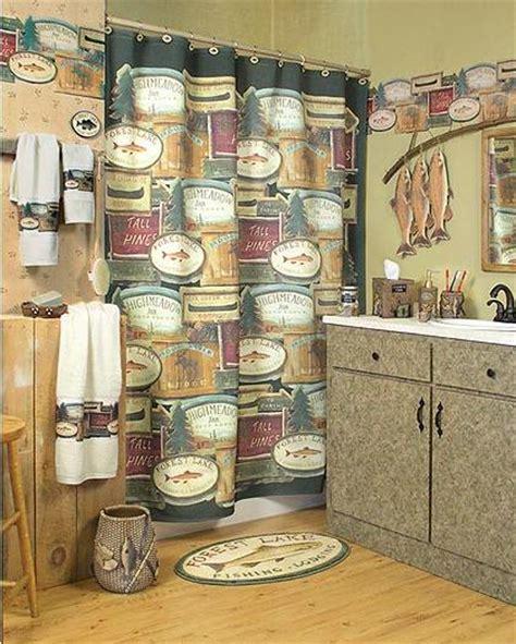 fishing cabin decor cing cabin lodge decor bathroom accessories