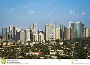 Cidade Manila Filipinas Do Makati Do Bonifacio Do Forte Imagem de Stock Imagem: 27694691