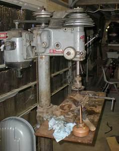 "Machine ID'd: Rockwell-Delta 17"" Drill Press with DP-600"