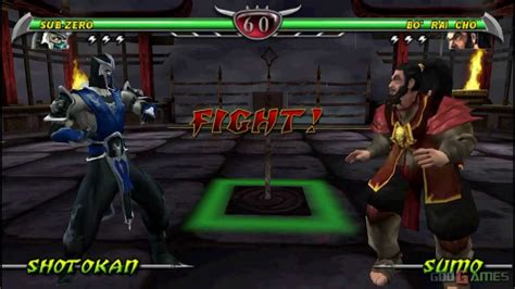 Mortal Kombat Unchained Gameplay Psp Hd 720p