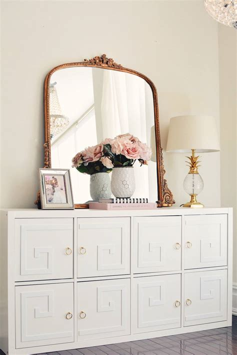 how to glam up the ikea kallax unit the pink