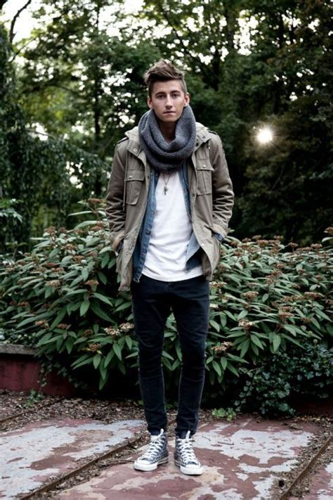 24 Comfy Fall Converse Outfits For Men - Styleoholic