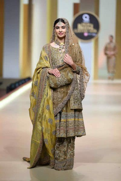 hsy latest bridal collection  qhbcw  hsy bridal
