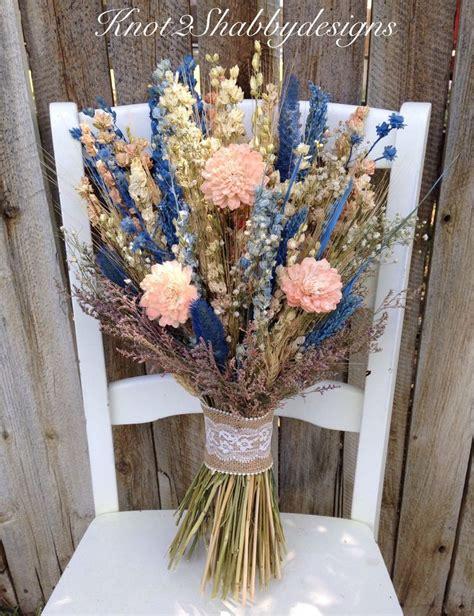 dried flower bouquet ideas  pinterest wedding