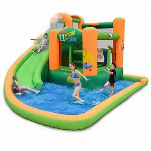 KidWise Endless Fun 11-in-1 Inflatable Bouncer and Water