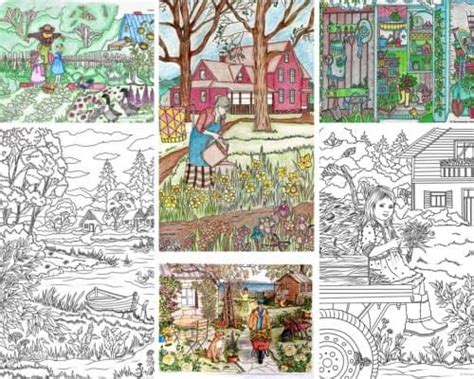 Inspiring Coloring Book With Hand-drawn