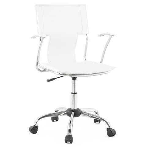 meubles de bureau bruxelles fauteuil de bureau evo blanc sur roulettes