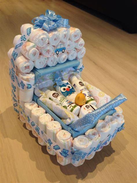 baby shower present nappy stroller idea baby shower present pinterest baby showers
