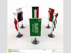 GCC Flags stock illustration Illustration of advertising