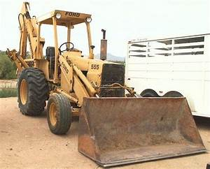 Find Ford Tractors 555a 555b 655a Tlb Backhoe Loader Shop