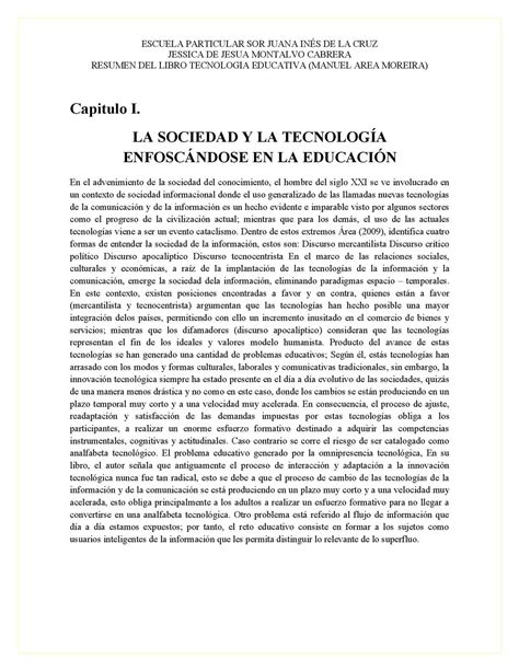 calam 233 o resumen libro tecnologia educativa