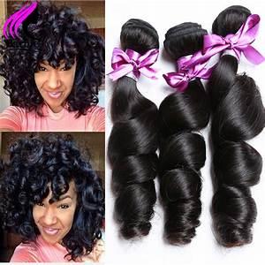 New Best Brazilian Virgin Hair Loose Wave 3 Bundles ...