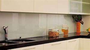 Kuchenruckwand glasklar optik for Küchenrückwand