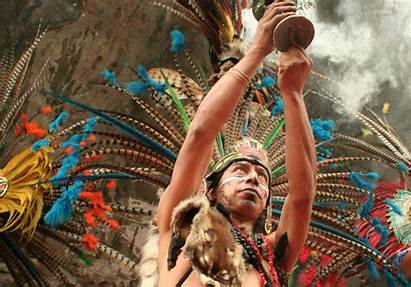 Indigenous Rituals Cosmovision Ritual Tribe Mexica Aztec