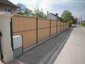 Panneau De Cloture En Bois : cloture panneau jardiparc paysagiste epernay pose de ~ Premium-room.com Idées de Décoration