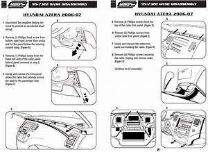 2007 Hyundai Azera Installation Parts  Harness  Wires