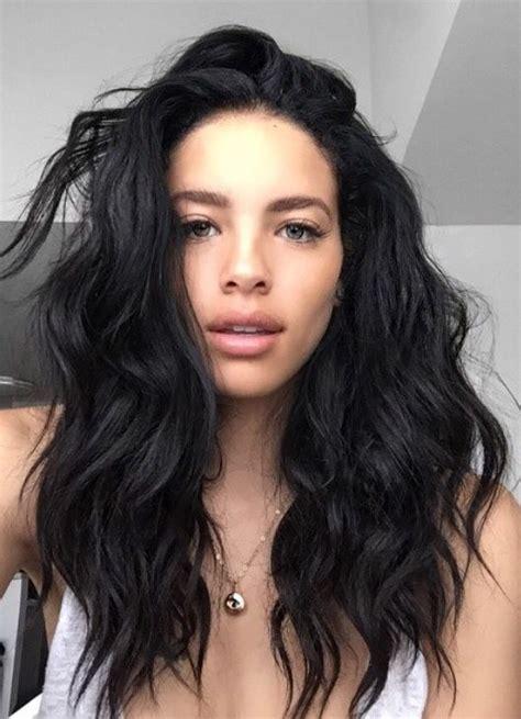 stunning hairstyles  black hair  shoulder