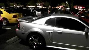 2004 Ford Mustang Cobra Silver Staggered