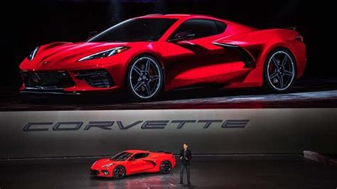 gm unveils  mid engine chevy corvette todays motor