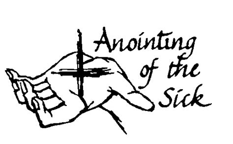 Image result for The Anointing of Sick Catholic Church Clip Art