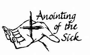 Image result for anointing of the sick clipart