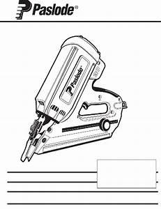 Paslode 900420 Nail Gun Operating Manual Pdf View  Download