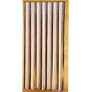 rideau de porte 232 res plastique marron et beige rideaux provence outillage