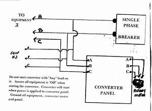 American Rotary Phase Converter Wiring Diagram