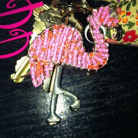 flamingo key chain  images pretty