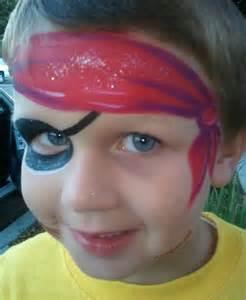 Simple Boys Face Painting