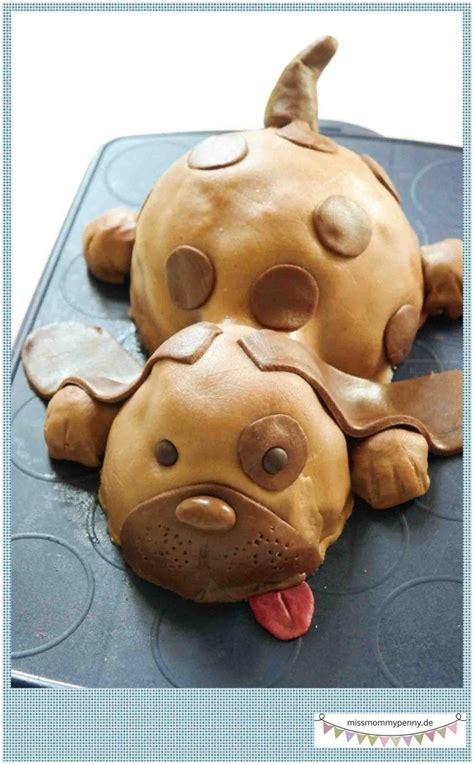 kinderkuchen torte hund kindergeburtstag