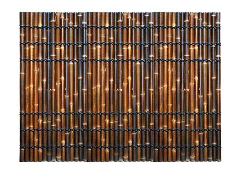 bamboo screen bamboo fence fencing bamboo screen 2 2m x 1m double lacquer heavy duty rope ebay